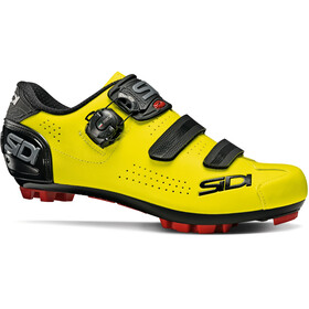 Sidi MTB Trace 2 Shoes Men, yellow fluo/black